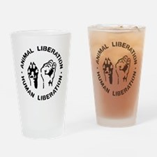 Animal Liberation Drinking Glass