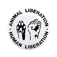 "Animal Liberation 3.5"" Button"