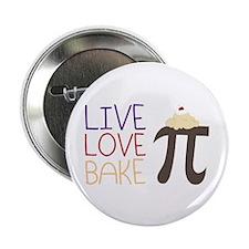 "Live Love Bake 2.25"" Button"