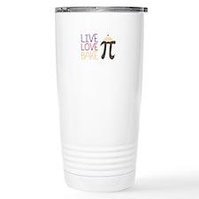 Live Love Bake Travel Mug