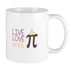 Live Love Bake Mugs