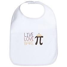 Live Love Bake Bib