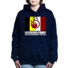 AIM (Fighting Terrorism Since 1492) Women's Hooded