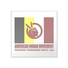 AIM (Fighting Terrorism Since 1492) Sticker