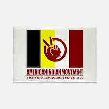AIM (Fighting Terrorism Since 1492) Magnets