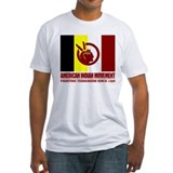 American indian movement Fitted Light T-Shirts