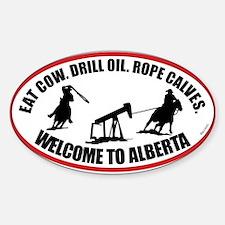 Alberta Team Roper Decal