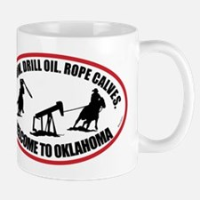Oklahoma Team Roper Mug