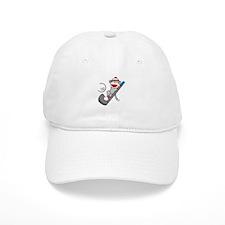 Sock Monkey Golf Baseball Cap