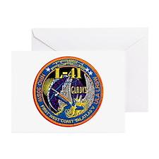 NROL-41 Launch Logo Greeting Cards (Pk of 10)