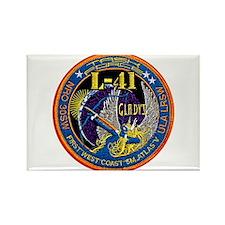 NROL-41 Launch Logo Rectangle Magnet
