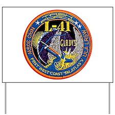 NROL-41 Launch Logo Yard Sign