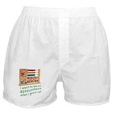 Future Accountant Boxer Shorts
