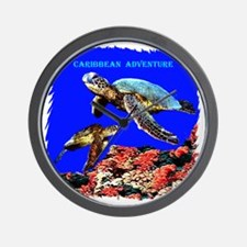 Caribbean Adventure - Wall Clock