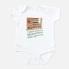 Future Accountant Infant Bodysuit