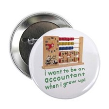 """Future Accountant 2.25"""" Button (100 pack)"""