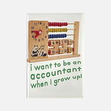 Future Accountant Rectangle Magnet