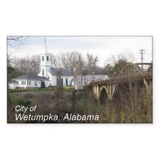 Wetumpka Rectangle Decal