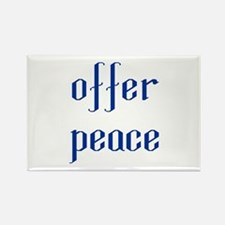 Offer Peace Rectangle Magnet (10 pack)