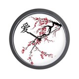 Cherry blossoms Wall Clocks