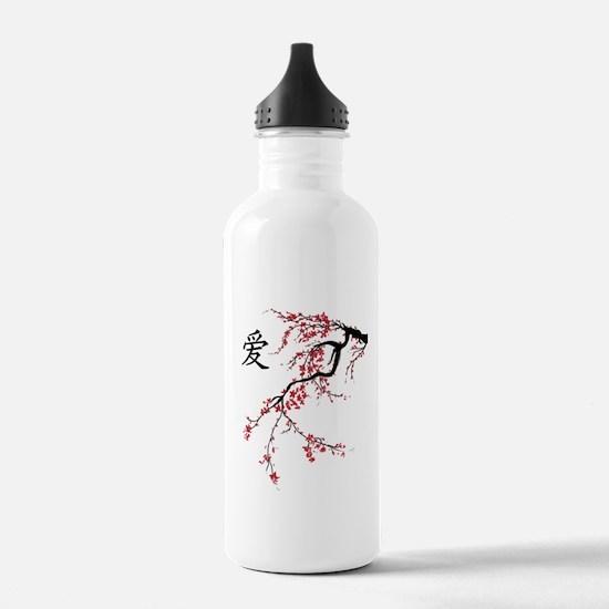 Cherry Blossom Water Bottle