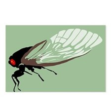 Cicada Postcards (Package of 8)