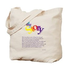 Tell me a story Tote Bag