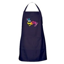 Tell me a story Apron (dark)