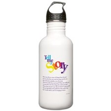 Tell me a story Water Bottle