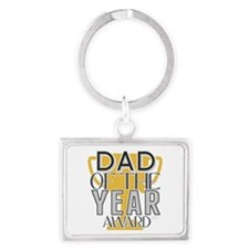 Dad of the Year Keychains