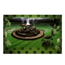 Steampunk Time Machine Postcards (package Of 8)
