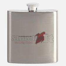 Cute Nebraska Flask
