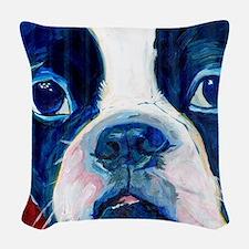 YOLO: Try a Boston Woven Throw Pillow