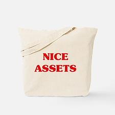 Nice Assets Tote Bag