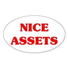 Nice Assets Oval Decal