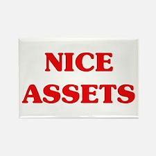 Nice Assets Rectangle Magnet