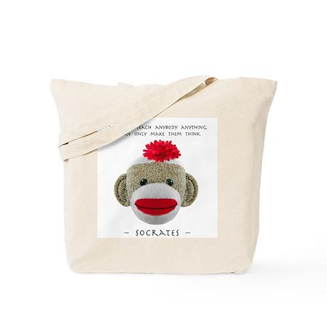 'Socrates: TEACH'-- Tote Bag
