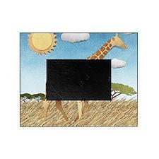 Paper Giraffe Picture Frame