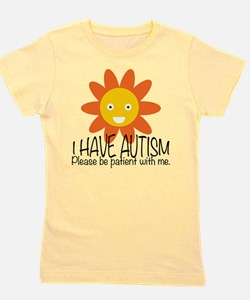 Cute Autism Girl's Tee
