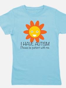 Cute Autism Girl's Tee