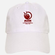 AIM (Fighting Terrorism Since 1492) Baseball Baseball Baseball Cap