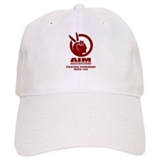 AIM (Fighting Terrorism Since 1492) Baseball Baseball Cap