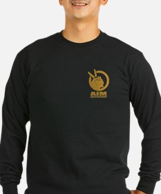 Aim (fighting Terrorism Since Long Sleeve T-Shirt