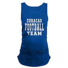 Curacao Football Team Maternity Tank Top