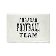 Curacao Football Team Rectangle Magnet
