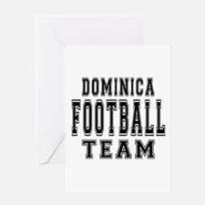 Dominica Football Team Greeting Card