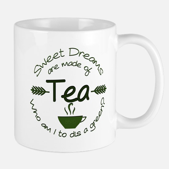 Sweet Dreams Green Mugs