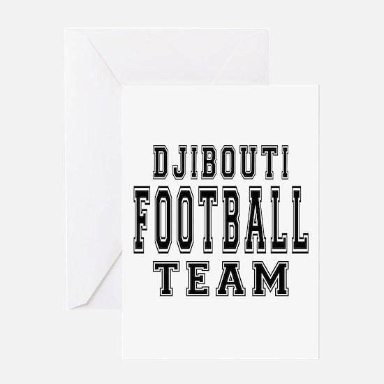 Djibouti Football Team Greeting Card