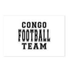 Congo Football Team Postcards (Package of 8)