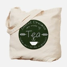 Green Tea Dreams Tote Bag